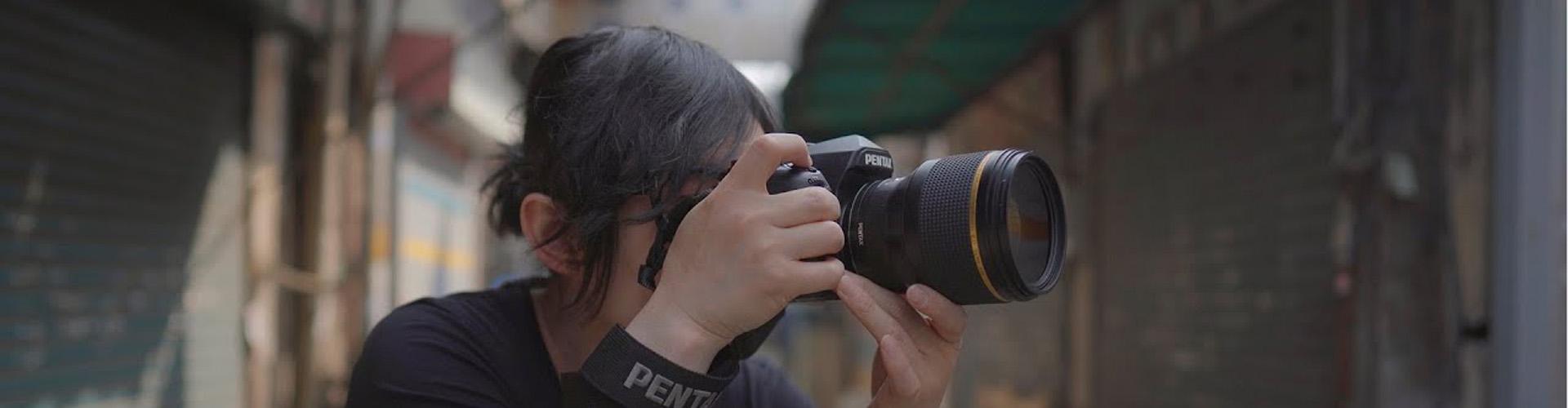 PENTAX 85mmF1.4 렌즈 촬영 모습