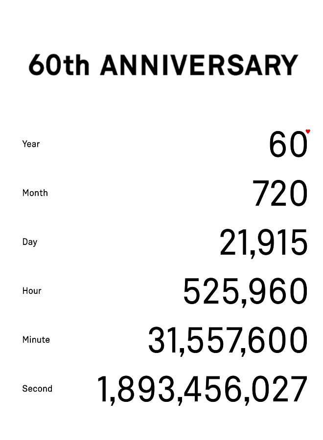 시그마 60주년